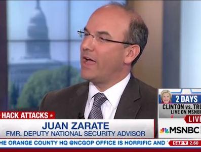 Juan Zarate on CBS